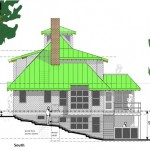 Guerin Residence South Elevation