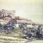 Aga Khan Hotel Pevero Illustration